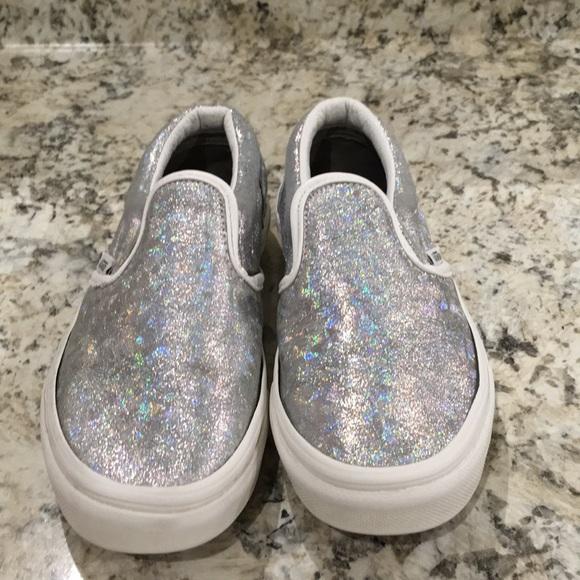 7545077a6844 Vans Off Wall Glitter Sneakers. M 5a9ca23346aa7c7ccedf316e